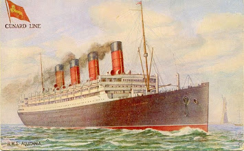 Photo: AQUITANIA (CUNARD WHITE STAR LINE)