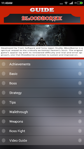 Guide for Bloodborne