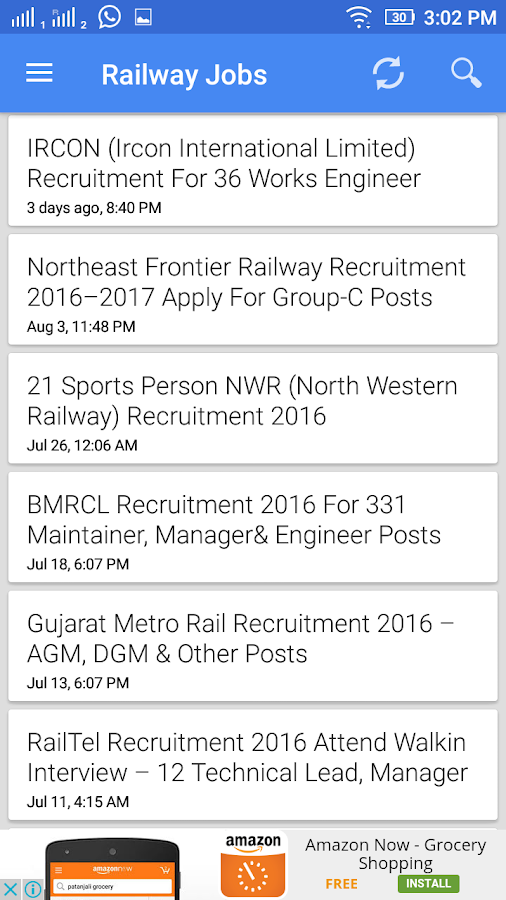 Railway Jobs India- screenshot