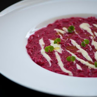 Beetroot Risotto and Gorgonzola Recipe