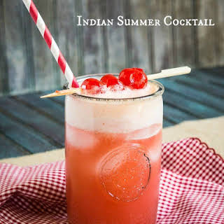 Indian Summer Cocktail.