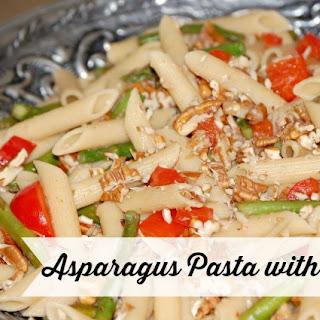 Asparagus Pasta with Pecans