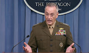 US Joint Chiefs of Staff Chairman General Joseph Dunford.