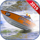 Water Boat Stunt - Real Surfer 2019 icon