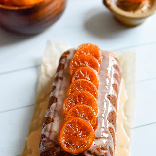 Clementine & Mincemeat Drizzle Cake.