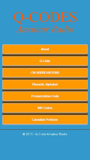 Q-Code Amateur Radio