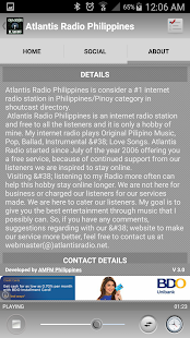 Atlantis Radio Philippines- screenshot thumbnail