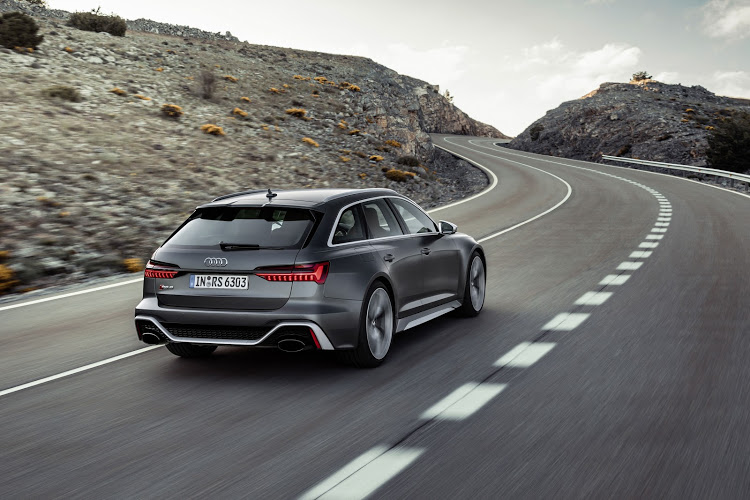 The RS6 Avant will be one of the cars powered by the heavy-hitting 4.0 V8 turbo engine.