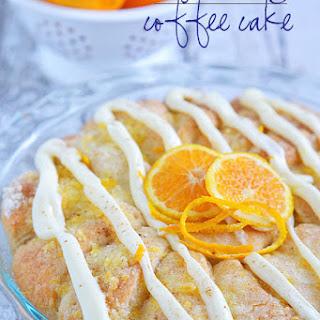 Easy Orange Coffee Cake