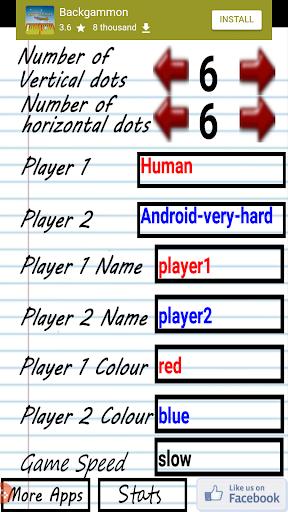 Dots and Boxes - Squares (Ad disable option) 4.3 screenshots 2