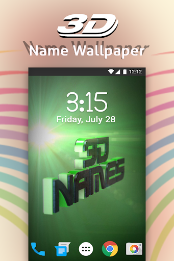 3D My Name Live Wallpaper By Photo Editor Solution Google Play United States