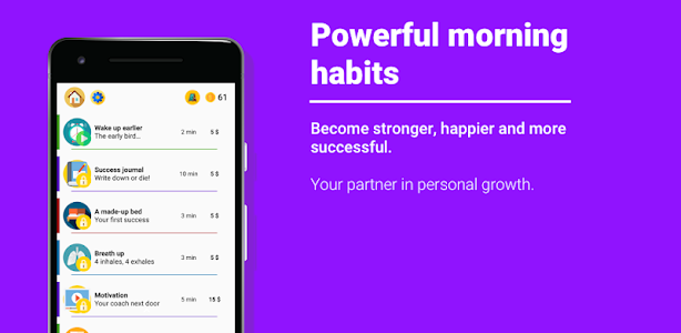 Powerful morning habits vv1 1 7 Build: 1287 For Android Free APK