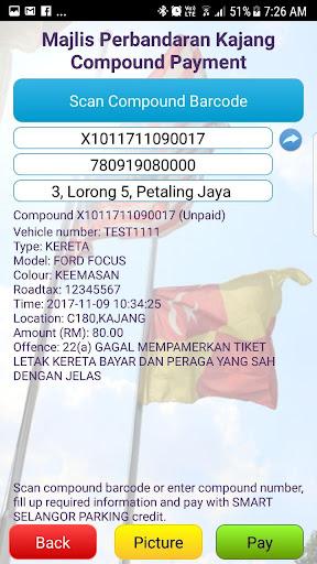 Smart Selangor Parking 4.3 screenshots 2