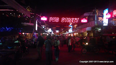 Photo: The center of (tourist) Night life in Siem Reap
