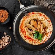 Hummus Chicken Shawarma
