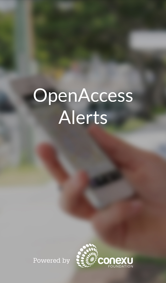 OpenAccess Alerts- screenshot