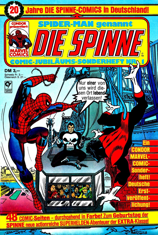 Die Spinne - Comic-Jubiläums-Sonderheft (1986) - komplett