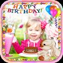 Happy Birthday Pic Photo Frame icon