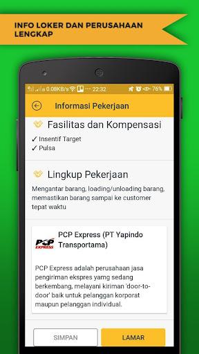 Temu Kerja Info Loker Lowongan Kerja 2018 Apps On