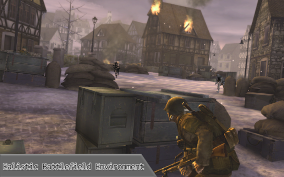 Secret Agent on Duty : Mission Frontline Shooting apk screenshot