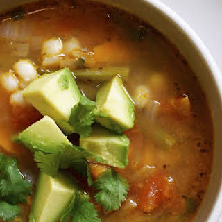 PALEO MEXICAN CHICKEN SOUP.