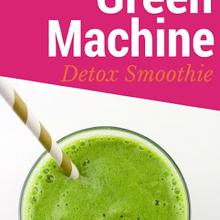 Green Machine Detox Smoothie