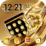 Golden Launcher Theme 2019 : HD Themes Wallpaper