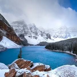 Canadian Gem by Ken Smith - Landscapes Travel ( canadian rockies, moraine lake, banff national park, landscape )