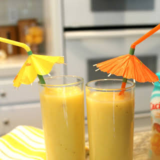 Pineapple Mango Smoothie.