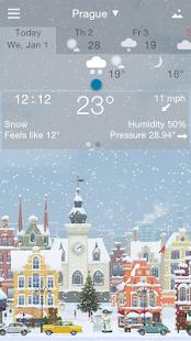 Precise Weather YoWindow Screenshot 3