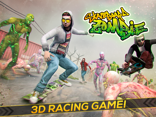 Skateboard Pro Zombie Run 3D 2.11.2 screenshots 4