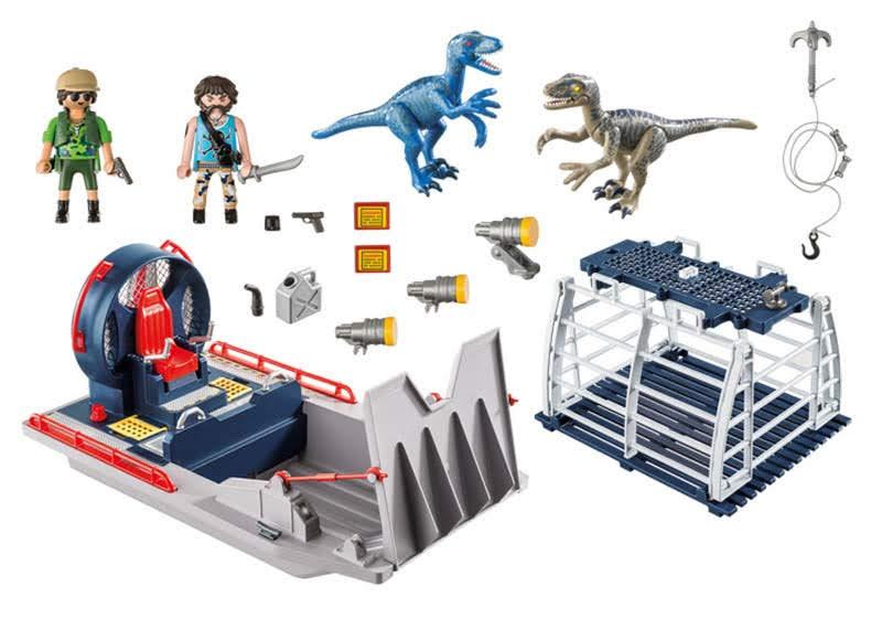 Contenido Real de Playmobil® 9433 Hidrodeslizador con Jaula