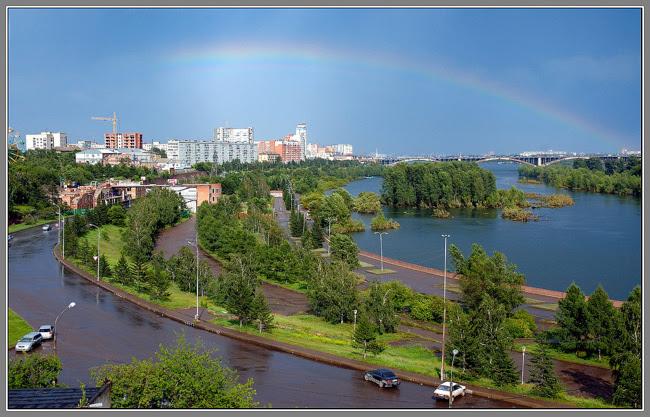 Красноярск набережная