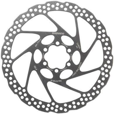 Shimano RT56M 180mm 6-Bolt Disc Brake Rotor, Resin Pad Only alternate image 0