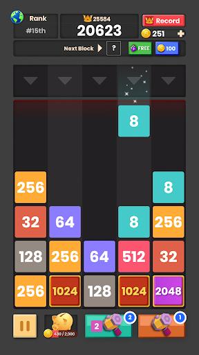 Drop & Merge: Number Puzzle 2048 1.1.0.1 screenshots 4