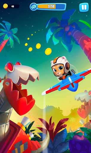 Talking Tom Sky Run: The Fun New Flying Game apktram screenshots 5