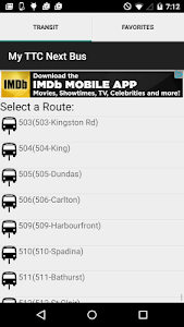 My TTC Next Bus screenshot 0