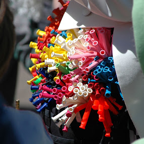 A pocket full of balloons by Wayne Paton - Artistic Objects Other Objects ( colour, balloons, clowns )