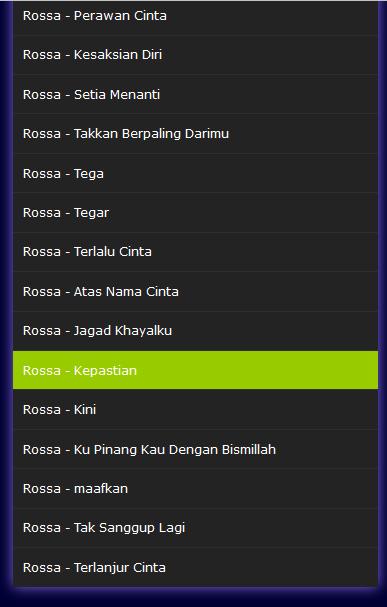 Lagu Rossa Mp3 Terlengkap 1 0 Apk Download Com Rosa Lanamp3 Apk Free