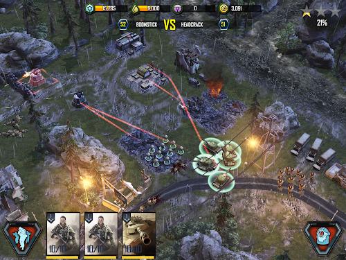 Screenshot 1 War Commander: Rogue Assault 2.35.1 APK hack