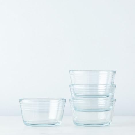 Small Borosilicate Glass Ramekins (Set of 4)
