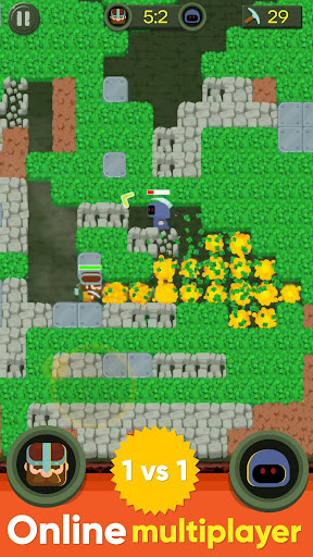 Dig Bombers: PvP multiplayer digging fight 3.3.3 screenshots 9