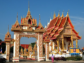 Photo: Wat Klang along the Mekong River, Nakhon Phanom