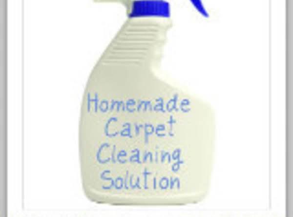 Homemade Spot Cleaner For Carpet