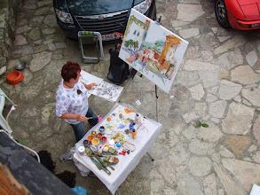 Photo: Malen in Pastina, Toskana