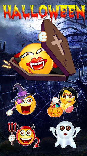 玩免費個人化APP|下載GO Keyboard Sticker Halloween2 app不用錢|硬是要APP