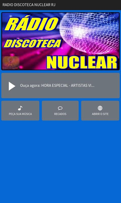 RADIO DISCOTECA NUCLEAR RJ- screenshot