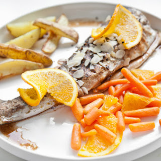 Trout with Orange & Carrots Recipe