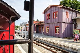 Photo: Harzquerbahn - Bahnhof Benneckenstein