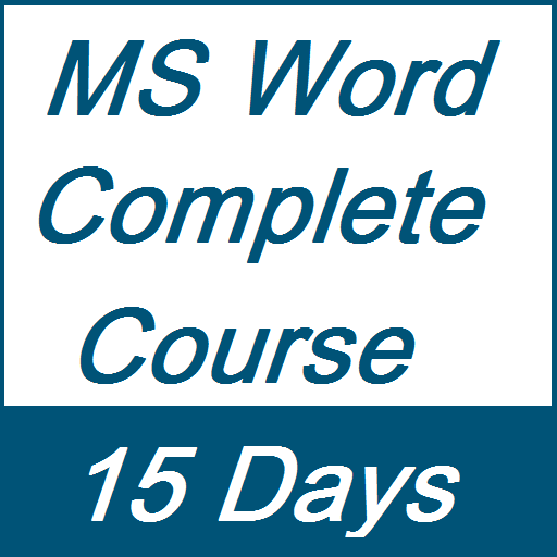 Learn MS Word Full Course in 15 Days